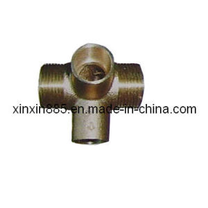 Four Way Forged Brass Fitting (ITB0010) pictures & photos
