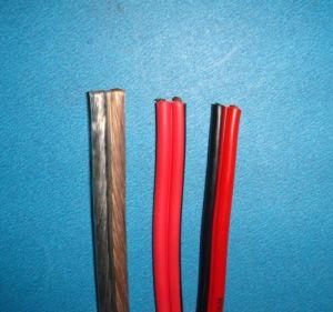 Twin Flat Transparent Speaker Wire