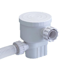 Mini Filter Pump, Attached to Pool Wall