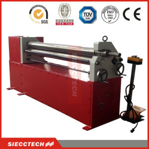 W11f-6X2000 3 Rollers Mechanical Plate Bending Rolling Machine pictures & photos