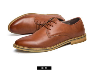 Fashionable Casual Men Shoes Genuine Leather, Other Design Shoes Also Available pictures & photos
