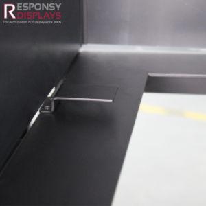 Customized Floor Metal Energy Drink Display Beverages Display Racks pictures & photos