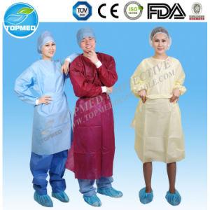 Hot! Nonwoven Disposable Hospital Uniform, Hospital Clothing Patient Gown pictures & photos