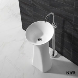 White Stone Household Bathroom Hand Wash Sink (B1708095) pictures & photos