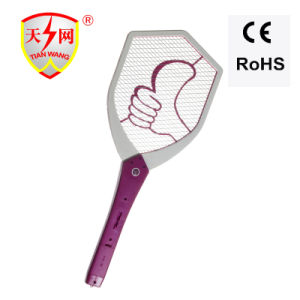 Battery-Operated Electronic Fly Swatter 7000V Output pictures & photos