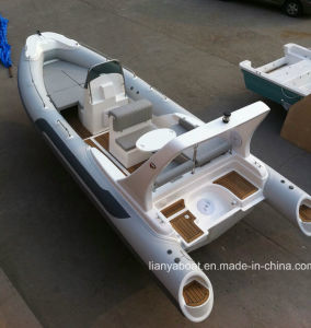 Liya 22 Feet Rubber Boats Rib Inflatable Boats Sale pictures & photos