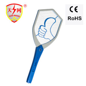 CE&RoHS Battery Operated Mosquito Racket with LED Light pictures & photos