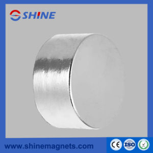 NdFeB Cylinder Magnet Super Strong Permanent Magnetic Material pictures & photos