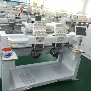 Industrial 2 Head 15 Needle Computer Embroidery Machine Price in China pictures & photos