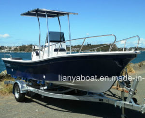 Liya 8men Fishing Boat for Sale Fiberglass Hull Boat Manufacturer pictures & photos