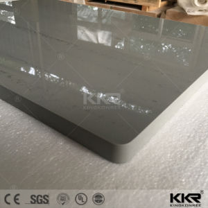 Kkr Hot Sale Engineered Stone Solid Surface Bathroom Vanity Top pictures & photos