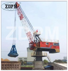 High Quality Slewing Double Jib Crane with Wire Rope pictures & photos