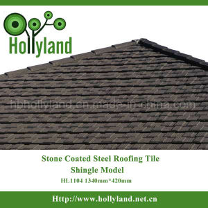 Stone Coated Steel Roofing Sheet (Shingle type) pictures & photos