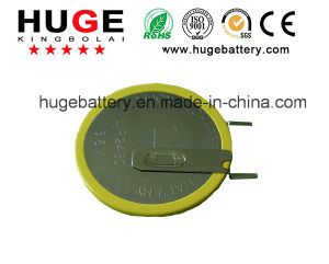 3.6V Lithium Rechargeable Button Cell Battery Lir2430 pictures & photos