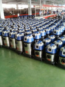 Industrial 60L Plastic Tank Wet and Dry Vacuum Cleaner pictures & photos
