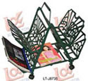 Iron Cast Family Artcrafts - Book Shelf (LT-J8735)