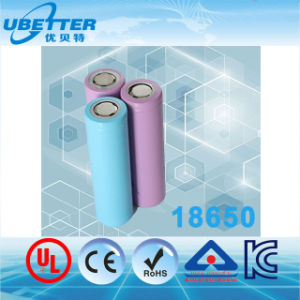 Lithium Ion LiFePO4 18650 26650 E-Bike Battery Solar Battery UL Ce RoHS Kc Bis Certificate pictures & photos