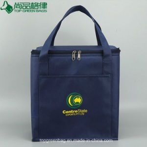 Hot Sale Promotional Thermal Bag with Pocket Wholesale Cooler Bag for Frozen Food pictures & photos