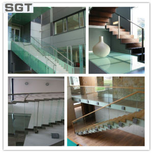 6mm Toughened Laminated Glass for Stairs/ Balustrades Fencing pictures & photos