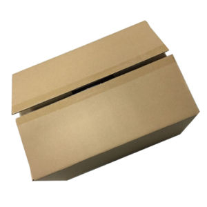 Brown Kraft Without Printing Corrugated Paper Shipping Box pictures & photos