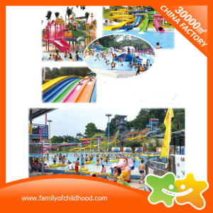 Swimming Pool Amusement Park Fiberglass Water Park Playground for Adult pictures & photos
