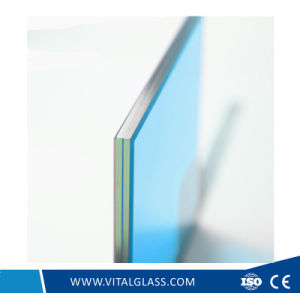 Clear/Grey/Red/Blue/Greentempered Laminated Building Glass (L-M) pictures & photos