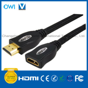 HDMI 19pin Plug to Jack Cable pictures & photos