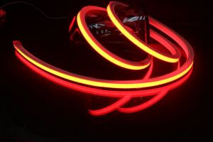 10W/M Color Chasing Silicone Neon Line for Gas Station Decoration pictures & photos