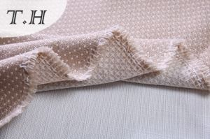 Little Dots Pattern Linen Fabric Sofa Material (FTD31053AB) pictures & photos
