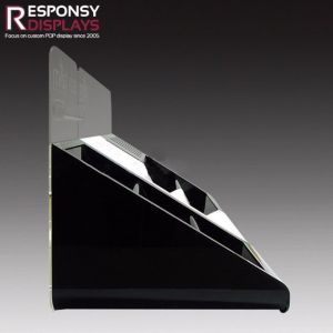 Acrylic Ladder Bottle Holder Electronic Cigarette Acrylic Display pictures & photos