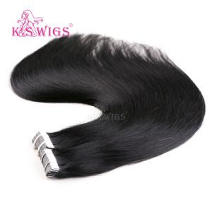 Virgin Human Hair Extension Brazilian Remy Hair Tape in Hair pictures & photos