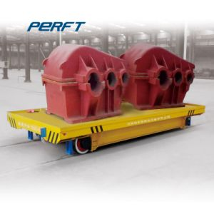 Heat Resistant Motorized Ladle Material Transfer Cart Equipment pictures & photos