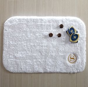 Hot Sale 100% Cotton Thick Hotel Bath Rug pictures & photos