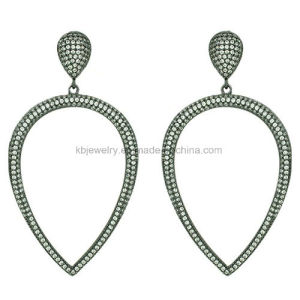 Plated Copper Eardrop Fashion Brass Jewelry (KE3094) pictures & photos