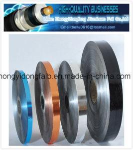 Copper Foil Laminate Polyester Film Cu/Pet Foil for Cable pictures & photos