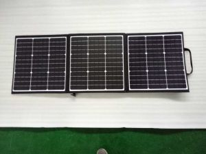 150W High Efficiency Folded Solar Charger with USB Output pictures & photos