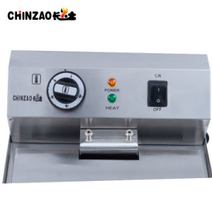 Hotel Equipment Deep Electric Fryer (DZL-17V) pictures & photos