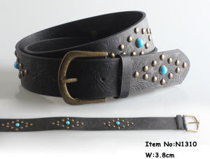 2017 Fashion Men PU Leather Belt (N1310) pictures & photos