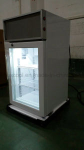 Beverage Cooler, Countertop Mini Fridge with Glass Door pictures & photos