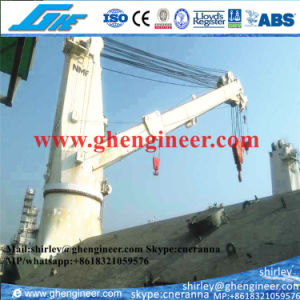 Stiff Boom Marine Deck Crane 25t 35t pictures & photos
