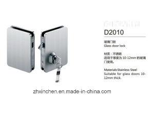 Xc-D2010 High Quality Glass Door Lock pictures & photos
