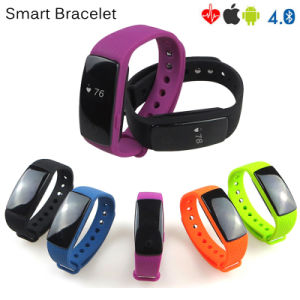New Developed Bluetooth 4.0 Smart Bracelet with Heart Rate Monitor (ID107) pictures & photos