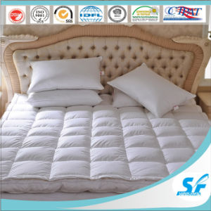 Double Layer Surround Duck Down Bed Mattress Protector pictures & photos
