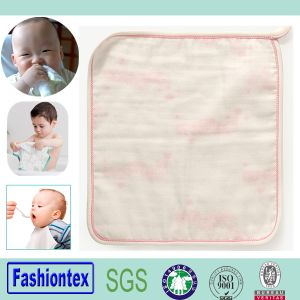 Baby Towel Cloth Muslin Square Cotton Face Care pictures & photos