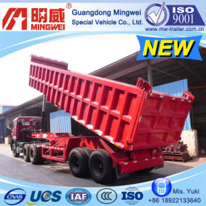 28cbm/9m/CCC/ISO/ 2 Axles Box-Type Tipper Semi Trailer