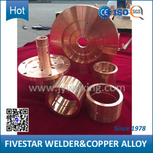 Shaped Copper Alloy Object Used as Welding Machine Part pictures & photos