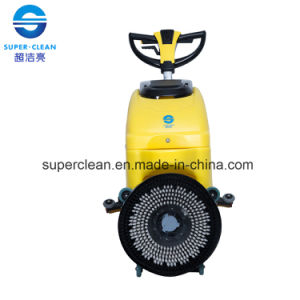 Multifunction Single Brush Floor Scrubber Dryer with Butterfly Handle pictures & photos