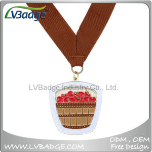 Zinc Alloy Die Cast Metal Souvenir Award Sport Medal with Ribbon pictures & photos