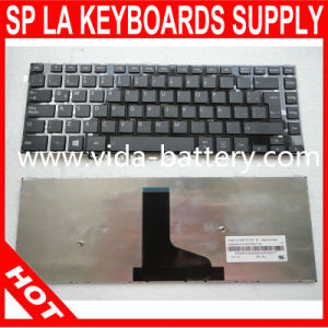 Computer Parts/Laptop Keyboard for Toshiba L40 L45 Us/Sp/La/Br pictures & photos