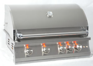 CSA Approval 304 Stainless Steel Drop in Gas BBQ Grill pictures & photos